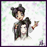 NejixTenten - Hairdo by Darkbutterfly137