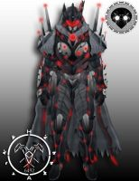 Siva Splicer Eva Ak 01 hunter armor by Hellmaster6492