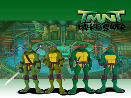 TMNT back to the sewers by DrawingMelee