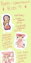 .:New commissions prices:. by Kuro-Rey