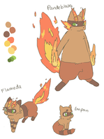 Fakemon for wintereevee's contest by scilk
