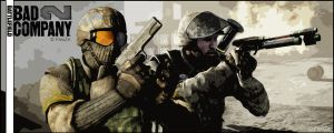 Battlefield Bad Company 2 by FleiiZe