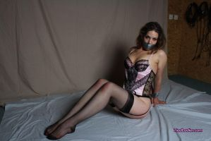 Loolove taped in lingerie #3 by PhMBond