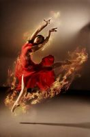 flame dance2 by robinpika