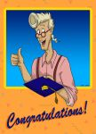 Congratulations from Egon by TDotBabs