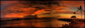 Akaika Sunset Pano by crazyIvan969