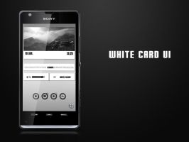 White Card UI by qamu74