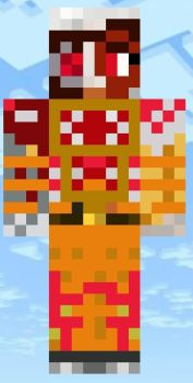 minecraft  skins :  the inmate  ( unmasked ) by techno103