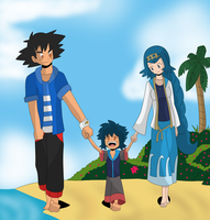 Family Walk by CmacX