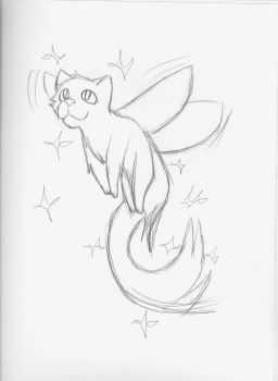 Fairy Kitty by QueenKittyM