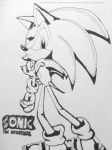 Old Sonic Fanart by MGartist