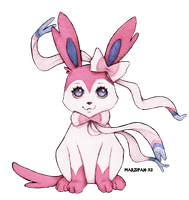 Pokemon: Sylveon by Marzipan-x3