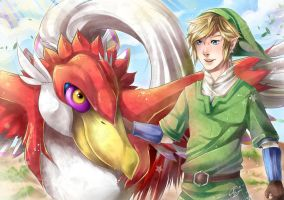 Friends - The Legend of Zelda: Skyward Sword by Pablo-B