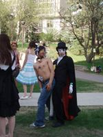 Deviant ID - With Tuxedo Mask by DeathRonin