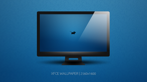 XFCE - WQXGA Wallpaper by hundone