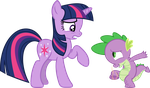 You need a bath, Spike by porygon2z