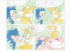 Tails x Sonic 1 by Mancoin