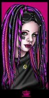 Miss Barcode 1 by ElectronicRainbow