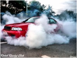 Burnout Audi by Fashionista07