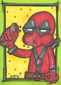 Deadpool ATC by K8e-Art