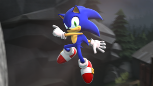 Sonic generations pose by sonic1993