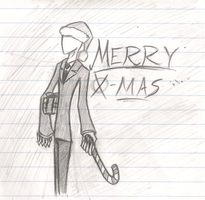Merry X-Mas from Slendy by AmbiguouslyAwesome1