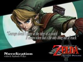 LOZ: Twilight Princess Novel Inspirational Quote 2 by Stephonika-W-Kaye