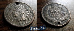 1893 Indian Head by Shad0wKillr