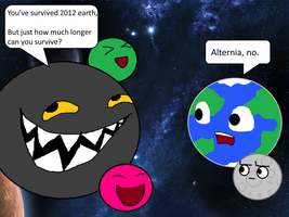 it's 2013 Earth. by Rotommowtom
