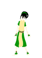 Lineless Toph by Lady-Agony