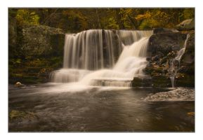 Child's Falls, Fall Foliage by ShaunJersey