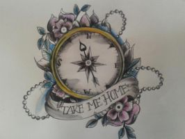 take me home- tattoo design by Tripptych