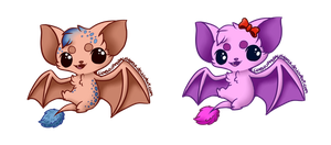 Bats Adoptables [CLOSED] by Gabrielle-adopties