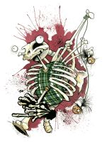 SKELETON BAGPIPES 2008 by GrisGrimly
