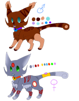 Tuckle cats adopts closed by SandxFire-Adopts