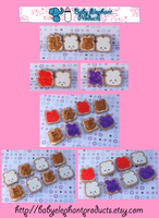 .: PB+J BFF Charms :. by moofestgirl