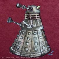 Dalek t-shirt - Doctor Who by LauraMSS