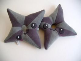 Shuriken throwing Stars by kickass-peanut