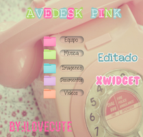 Avedesk Pink by IloveCute1220