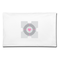 Companion Cube Pillow Case by Enlightenup23