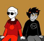 Homestuck: Nothing to See Here (Dave/Karkat) by sqbr
