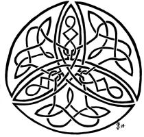 Trinity Celtic Knot Design by DarthJader11