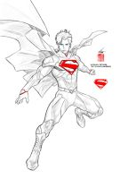 Superman by Kenneth Rocafort by denny1701