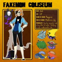 Fakemon Coliseum - Kel UPDATE by KelbremDusk