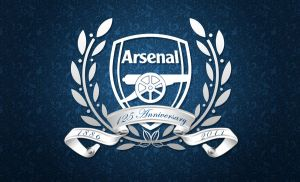 Arsenal 125 Anniversary 'Blue' by AnVeRsTeR