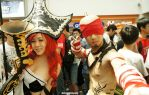 Miss Fortune and Lee Sin (Cosplay) by LilJaguar