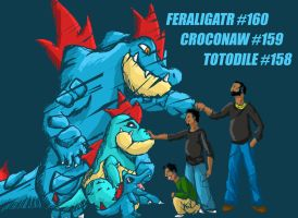 Feraligatr by Capitan-Mark-Antony