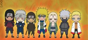 Hokages by jimjimfuria1