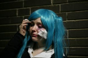 Miku Hatsune - Rolling girl by With-Open-Eyes