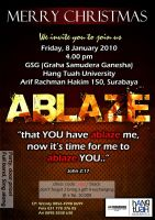 Ablaze Poster by theXIVdesigns
